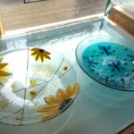 flowers-&-dragonflies-fused-bowls